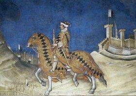 Simone Martini: Guidoriccio da Fogliano (Detail)