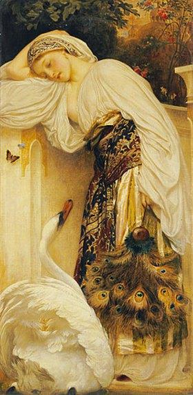 Frederic Leighton: Odalisk