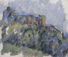Paul Cézanne: Das schwarze Haus (Le Chateau Noir)