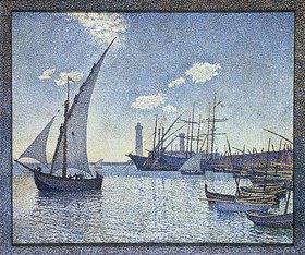 Theo van Rysselberghe: Port De Cette, Les Tartanes