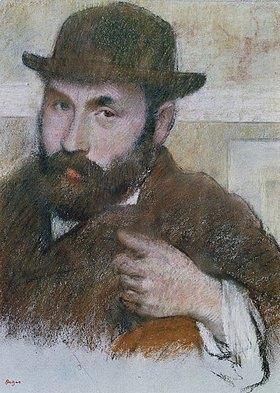 Edgar Degas: Selbstbildnis