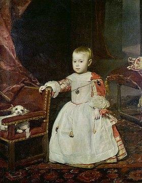 Diego Rodriguez de Velazquez: Infant Philipp Prosper