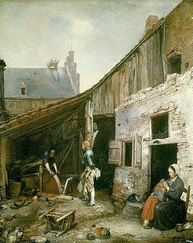 Gerard ter Borch: Die Familie des Schleifers. (o.J.)
