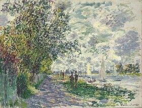 Claude Monet: Das Seine-Ufer bei Petit-Gennevilliers