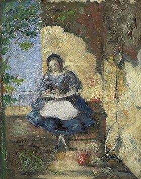 Paul Cézanne: Kleines Mädchen (Fillette)