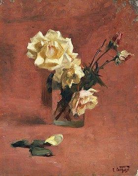 Edward Henry Potthast: Rosen in einem Glas