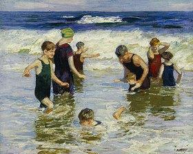 Edward Henry Potthast: Badende