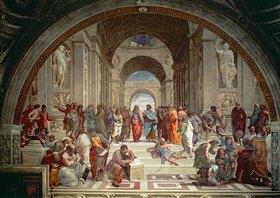Raffael (Raffaello Sanzio): Die Schule von Athen