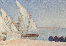 Paul Signac: Collioure, les Balancelles