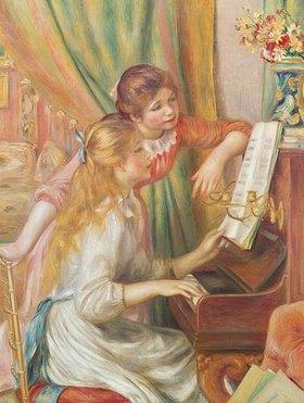 Auguste Renoir: Junge Mädchen am Klavier