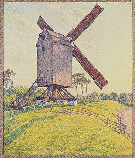 Theo van Rysselberghe: Die Mühle in Kalf