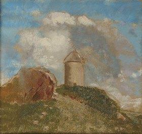 Odilon Redon: Die Windmühle