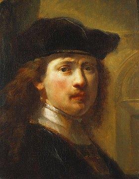 Govaert Flinck: Portrait von Rembrandt