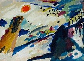 Wassily Kandinsky: Romantische Landschaft