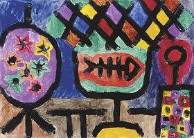 Paul Klee: Museales Stilleben. 1940