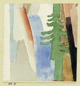 Paul Klee: Die Tanne