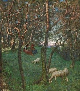 Hans Thoma: Olivengarten am Gardasee