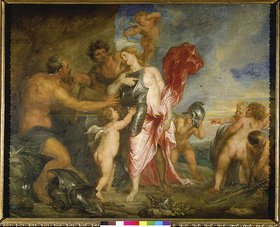 Anthonis van Dyck: Venus in der Schmiede Vulkans