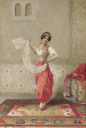 Francesco Ballesio: Orientalische Tänzerin