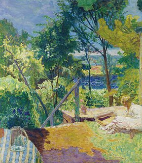 Pierre Bonnard: Terrasse in Vernon
