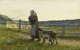 Giovanni Segantini: Le due madri