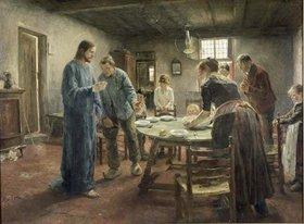 Fritz von Uhde: Komm Herr Jesu, sei unser Gast