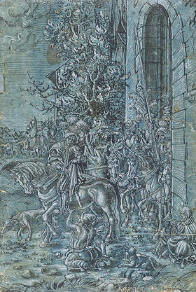 Lucas Cranach d.Ä.: Der hl. Martin und der Bettler
