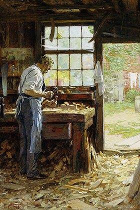 Edward Henry Potthast: Der Dorfschreiner