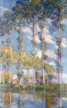 Claude Monet: Pappeln