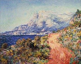 Claude Monet: Die rote Straße in der Nähe von Menton