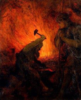 Hans Thoma: Siegfried und Mime