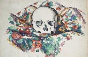 Paul Cézanne: Schädel auf einem Tuch