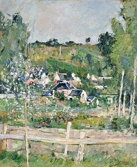 Paul Cézanne: Blick auf Auvers-Sur-Oise, Der Zaun