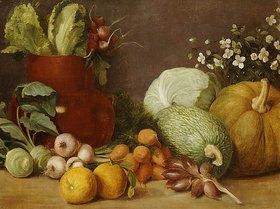 Felipe Gutierrez: Bodegon (Gemüse-Stillleben). Um 1884-90