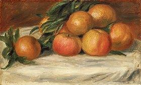 Auguste Renoir: Stillleben mit Äpfeln und Orangen