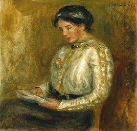 Auguste Renoir: Lesende