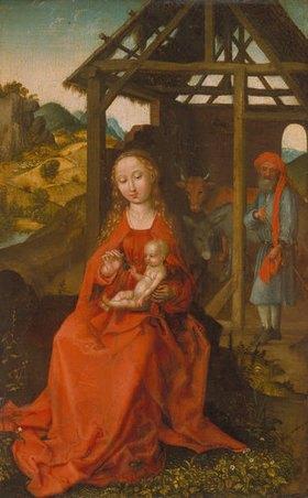 Martin Schongauer: Die heilige Familie