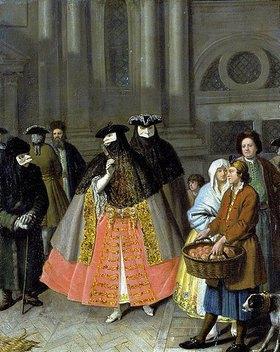Pietro Longhi: Der Apfelverkäufer