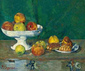 Paul Cézanne: Stillleben mit Äpfeln und kleinen Kuchen