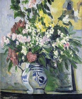 Paul Cézanne: Zwei Vasen mit Blumen