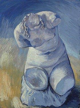 Vincent van Gogh: Gipsstatuette oder weiblicher Torso, von vorn gesehen