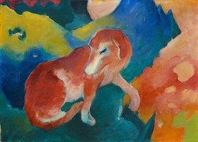 Franz Marc: Roter Hund