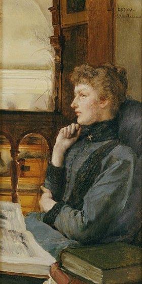 Sir Lawrence Alma-Tadema: Gedankenversunken