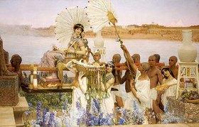 Sir Lawrence Alma-Tadema: Die Auffindung des Mosesknaben