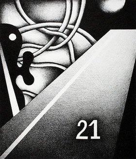 Ludwig Gebhard: Blatt mit der Nummer