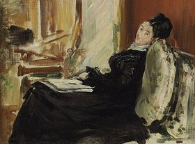 Edouard Manet: Lesende junge Fr