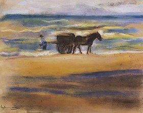 Max Liebermann: Muschelsucher am Strand