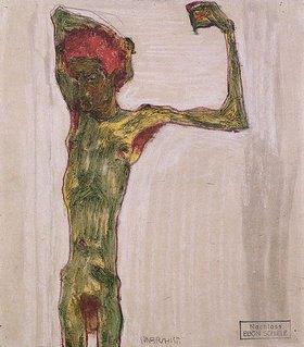 Egon Schiele: Der Anarchist