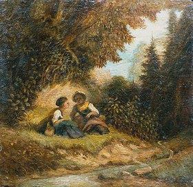 Carl Spitzweg: Im Wald. Wohl