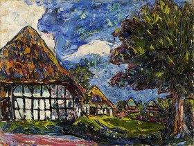 Ernst Ludwig Kirchner: Häuser auf Fehmarn